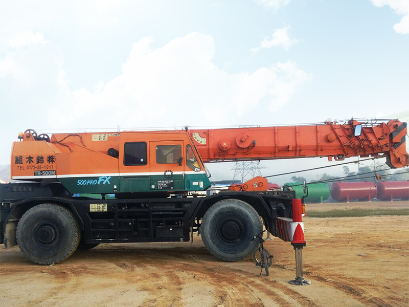 Rought Terrain Crane 50 Ton